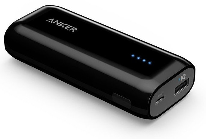 Anker Astro E1 is an extremely compact USB Portable Charger