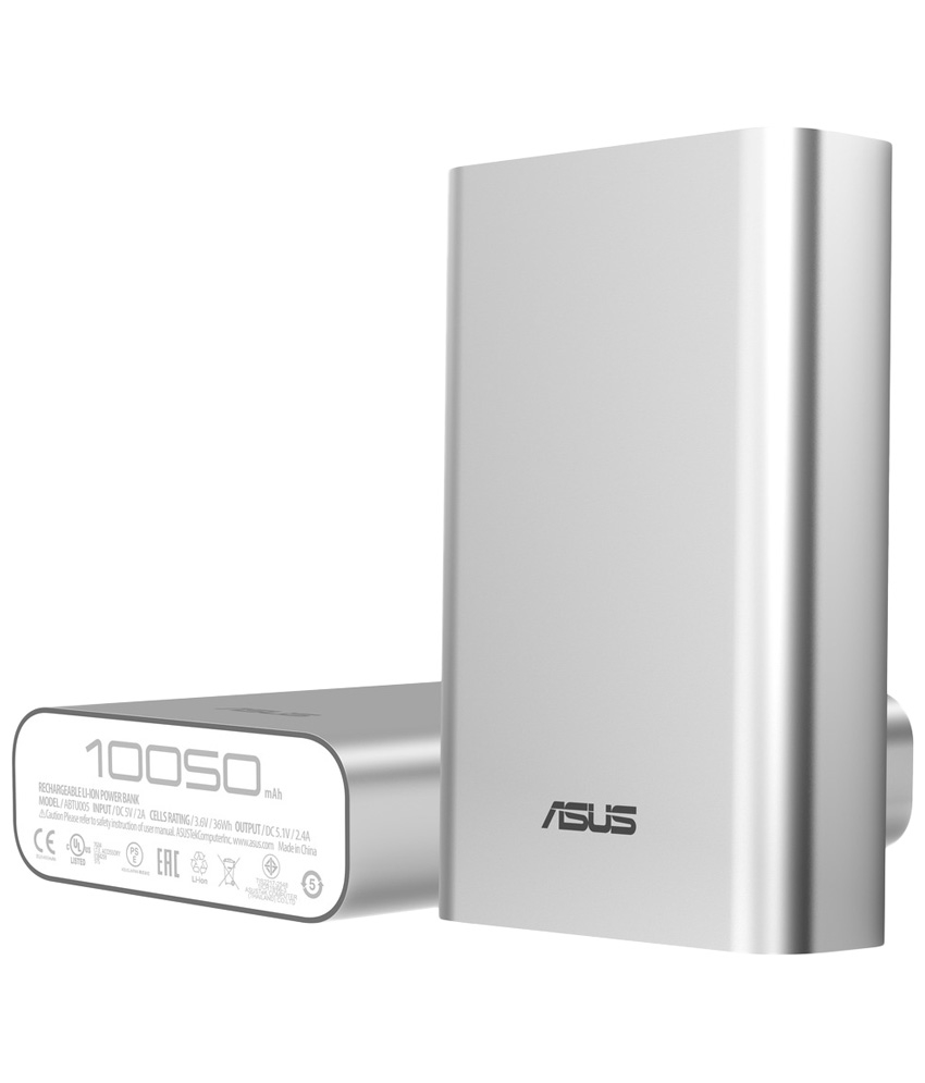 Asus Zen silver power bank