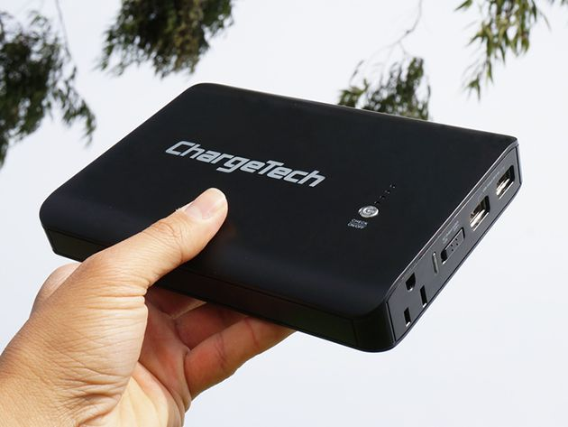The handy power bank is excellent for professionals