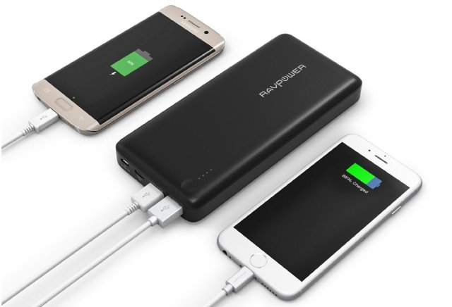 Three charging ports give excellent flexibility and versatality