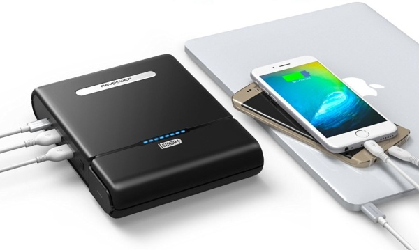 RAVpower powerbank for Macbook Pro