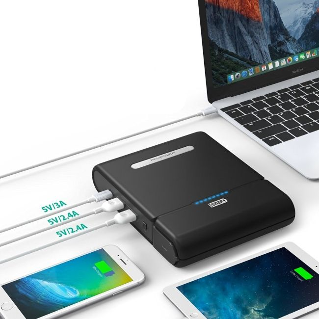 USB_C macbook and laptop powerbank