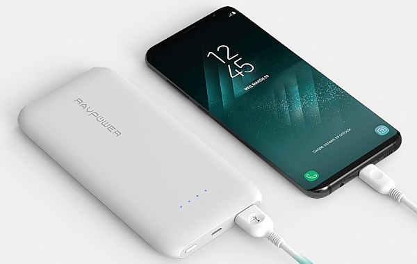 Fast charging Portable phone charger for S8