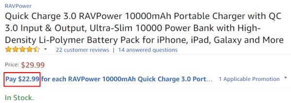 best portable phone battery charger