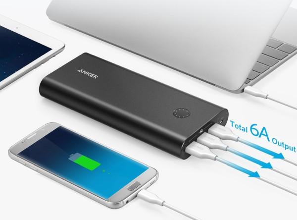 USB PD portable charger for iPhone 9