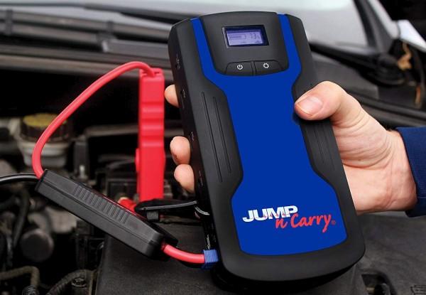 Car jump starter with USB powerbank