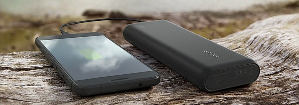 USB PD portable charger for iPhone X