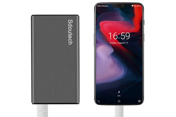 Dashcharge portable charger for oneplus 7 and oneplus 6t