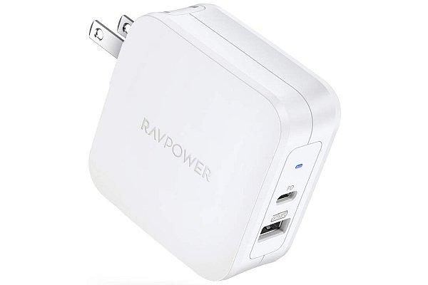 60-watt USB-C PD 3.0 charger for Macbooks