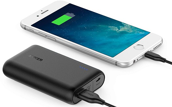 Lightest Quickcharge 3.0 10000mah portable charger