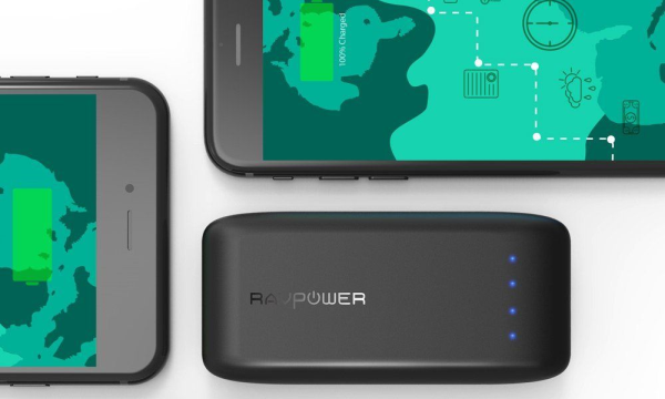 The RAV Power 6700 power bank