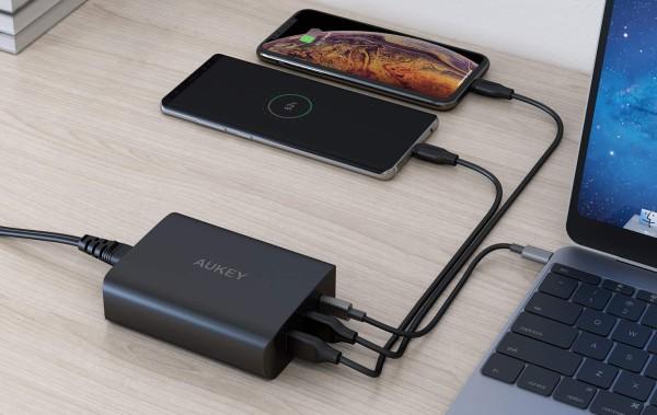 60W PD USB-C power adapter