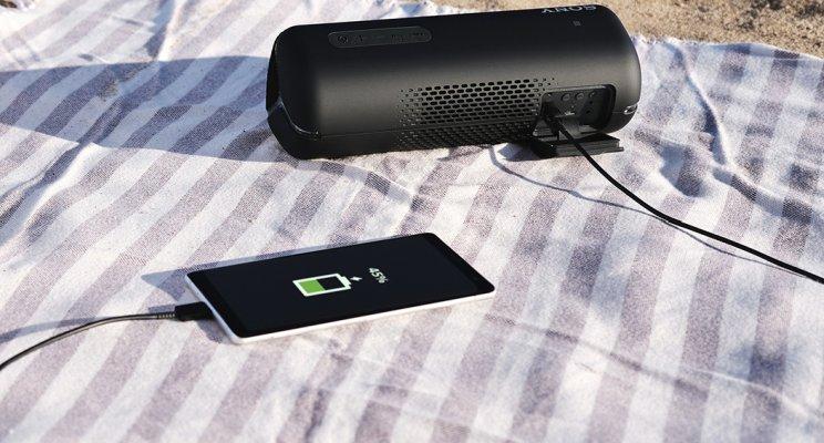 SONY SRS-XB32 portable Bluetooth speaker