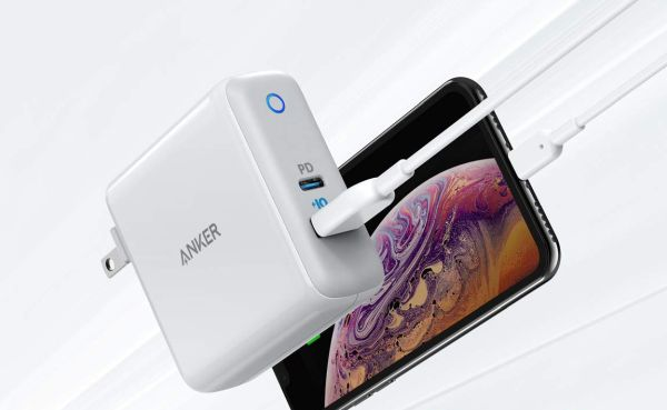Fast-charging techniques for iPhone XS Anker Duo